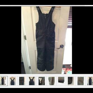 C9 Youth Sz 6-7 Black Snow Pants/Bibs  Unisex